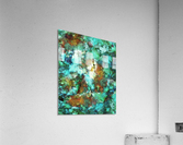 Turquoise terrain  Acrylic Print