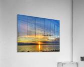 Ocean Sunsets  Impression acrylique