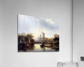 Summerlandscape with mills Sun  Acrylic Print