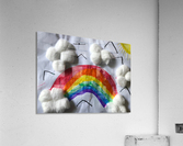 Nola rainbow  Acrylic Print