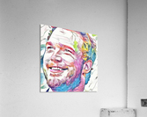 Chris Pratt - Celebrity Abstract Art  Impression acrylique