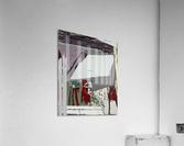 The grey barrier  Acrylic Print