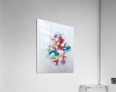 Flower bouquet  Impression acrylique