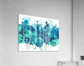Bluecrush  Impression acrylique