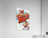 1985 baltimore orioles magic retro sports poster  Acrylic Print