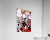 Merry Go Round Horses  Acrylic Print
