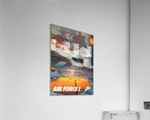 1984 Nike Air Force 1 Shoe Advertisement   Acrylic Print