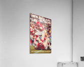 1979 New England Patriots Retro Football Poster  Acrylic Print