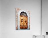 Ornate Wooden Door Citta della Pieve 1  Acrylic Print