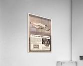 1963 brooks robinson rawlings baseball glove ad  Acrylic Print