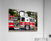 City of Atlanta Fire Engine No 29 6665  Acrylic Print