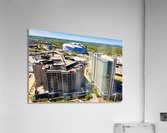 CNN Center Aerial View   Atlanta GA 0588  Acrylic Print