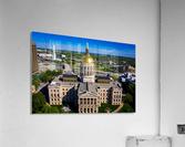 Georgia State Capitol Building   Atlanta GA 0639  Acrylic Print