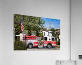 City of Atlanta Fire Engine No 29 6648  Acrylic Print
