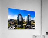 King and Queen Buildings   Atlanta GA 0556  Acrylic Print
