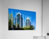 King and Queen Buildings   Atlanta GA 6686  Acrylic Print