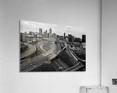 Interstate 75 85 Aerial View   Atlanta GA 0225_1596639055.5636  Acrylic Print