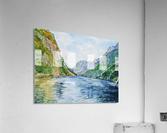 Norway Fjord  Acrylic Print