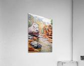 Sedona Arizona Slide Creek  Acrylic Print