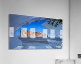 Rocher Perce sous glace  Acrylic Print