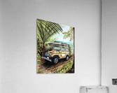 Collection COSTA RICA-Jeep  Impression acrylique