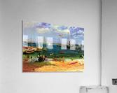 Nassau port by Bierstadt  Acrylic Print