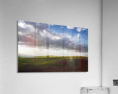 Fields and clouds  Acrylic Print