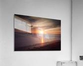 Sker Beach sunset  Acrylic Print