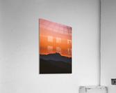 Plane scratch  Acrylic Print