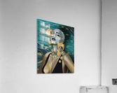 Gold Kind Of Girl  Acrylic Print