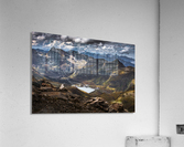 Surrounded by mountains  Acrylic Print