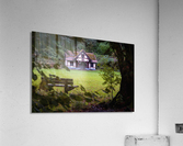 Craig-y-Nos Country park pavilion  Acrylic Print