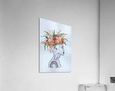 Crowned   Acrylic Print