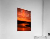 Big Ditch Sunset  Acrylic Print