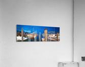 Key West Marina at Dusk  Acrylic Print