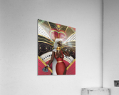 King Of Hearts  Acrylic Print