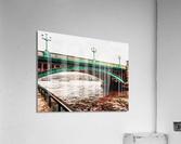 Impressions of Southwark Bridge  Acrylic Print