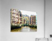 St Saviours Dock London  Acrylic Print