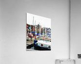St Katharine Docks Boats 5  Acrylic Print