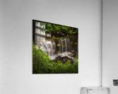 The Sgwd Isaf Clun-gwyn waterfall  Acrylic Print