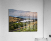 The Cray Reservoir in the Brecon Beacons National Park  Acrylic Print