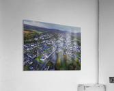Rainclouds over Ystradgynlais  Acrylic Print