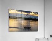 Araguaia River - Returning fishermen  Acrylic Print