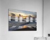 Sunrise Golden  Acrylic Print