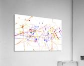 Station and ways of life  Acrylic Print