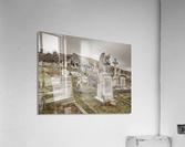 Cemetery in Llandudno, North Wales  Acrylic Print