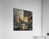 Evening view of Central Park in New York City  Acrylic Print