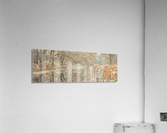 Canal through a forest  Acrylic Print