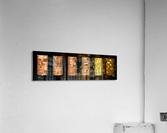 tree bark symphony  Acrylic Print