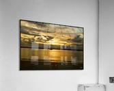 clarence river sunset  Acrylic Print